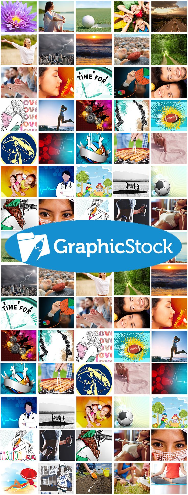 Create beautiful websites, marketing materials, flyers and more with GraphicStock's extensive library of high quality stock photos and graphics. Our image library is easy to use, continually updated, and available to you for an incredibly low annual price. Start unlimited downloading today with your free 7- day trial!