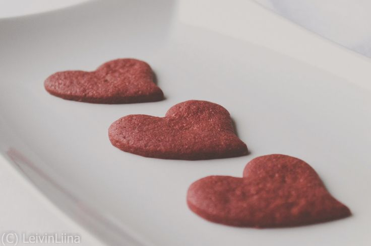 LeivinLiina: Red Velvet -piparit/cookies