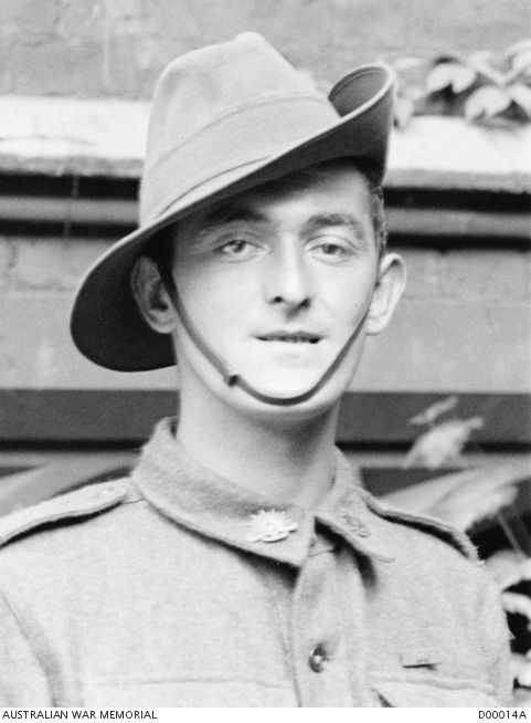 Unit:	2nd Australian Infantry Battalion Bede Kenny (1896-1953) was born at Paddington, Sydney, and enlisted in August 1915, before his 19th birthday. A tall and powerful man, he became a well known member of his battalion and, later, a familiar figure at Sydney's ANZAC Day ceremonies.  At Hermies, Kenny's platoon had to dig in on the edge of the village and engage any enemy attempting to leave. Several men were pinned down by heavy enemy fire before Kenny leapt up and rushed a post…