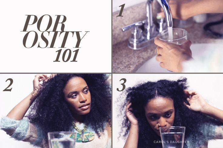 Types of Hair Porosity & Hair Porosity Test | Carol's Daughter