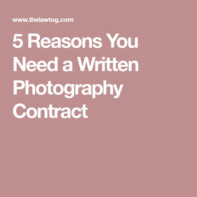 The 25+ best Photography contract ideas on Pinterest Photography - performance contract template