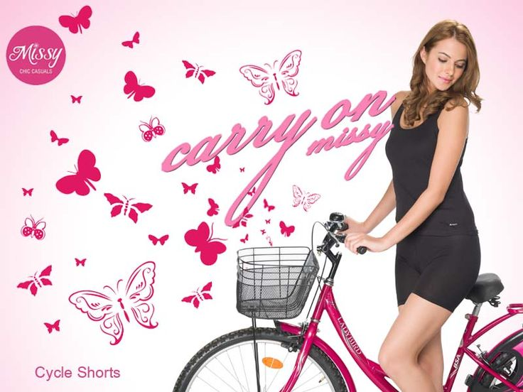 #Missy Cycle Shorts for your unmanageable lowers