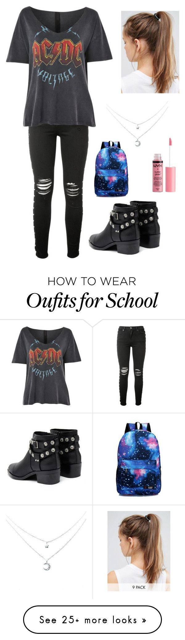 """School"" by ccxcool on Polyvore featuring AMIRI, Topshop, Senso, NIKE and Charlotte Russe"