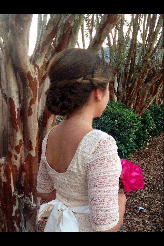 Best 25 Junior bridesmaid hairstyles ideas on Pinterest