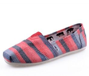 Toms Wedges Women Colorful Red Fashion Outlet