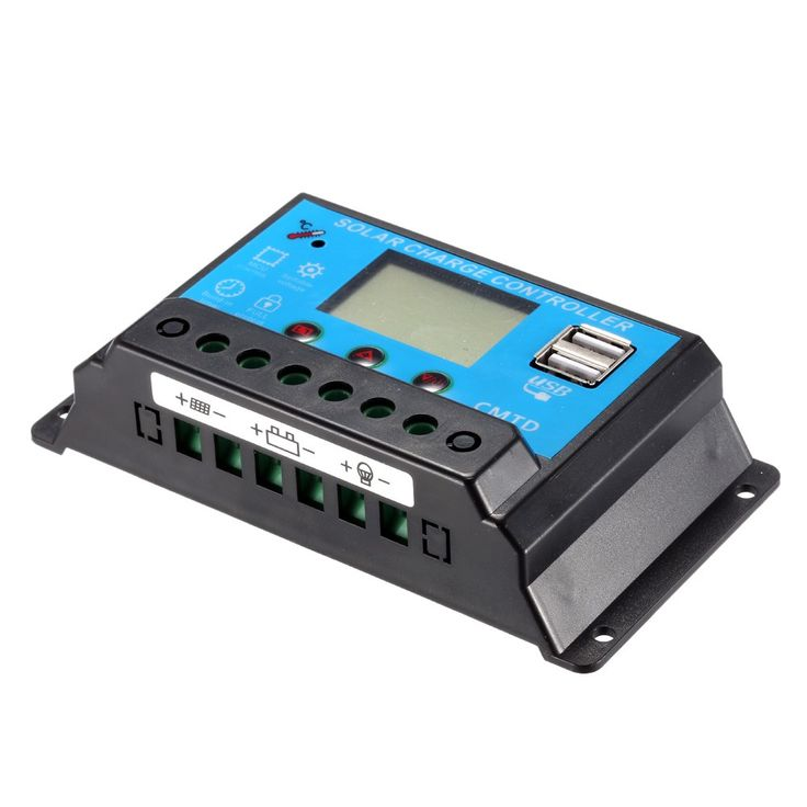 Only US$10.07, 10a Anself 10A 12.6V LCD Solar Charge Controller PWM Charging - Tomtop.com