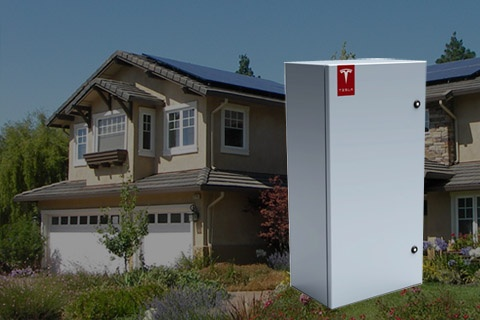 Electric sports car builder, Tesla is using its engineering expertise to develop home energy storage units that can store energy generated by solar panels for nighttime use. They have partnered with PV system installer SolarCity. http://evworld.com/news.cfm?newsid=27766