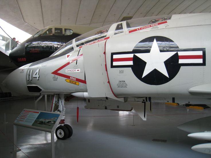McDonnell Douglas F-4J - American Air Museum Duxford - March 2013.