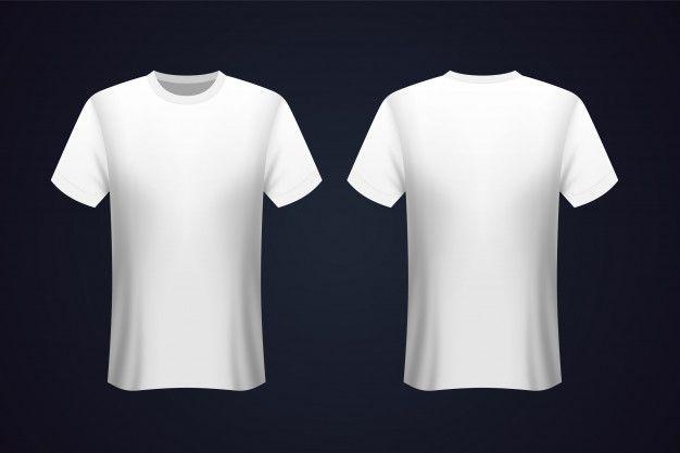 Download Front And Back White T Shirt Mockup Prem Premium Vector Freepik Vector Mockup Fashion Shopping M T Shirt Design Template Shirt Mockup Shirt Template