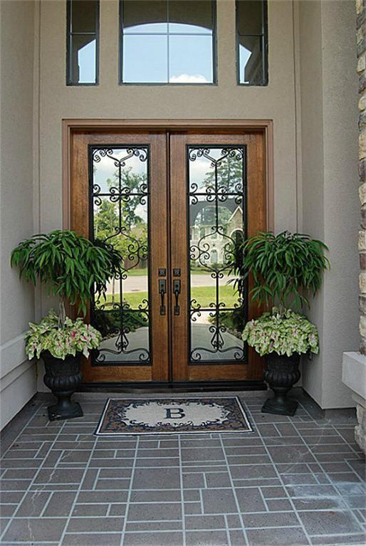 Best 25 double storm doors ideas on pinterest wood for Storm doors for double entry doors