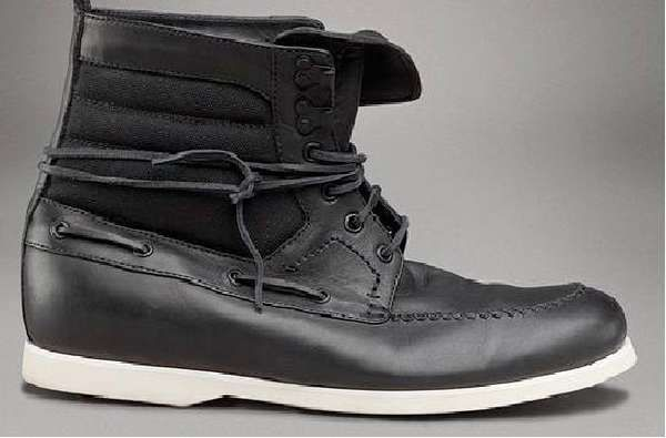 Bottega Veneta Ankle Boots Combine a Nautical Look for Wintry Days #winter #boots trendhunter.com
