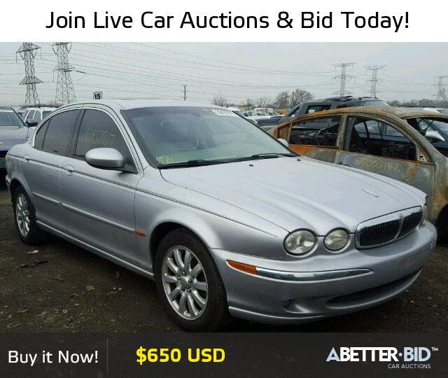 Salvage  2003 JAGUAR X-TYPE for Sale - SAJEA51D73XC96927 - https://abetter.bid/en/26437917-2003-jaguar-x-type_2.5