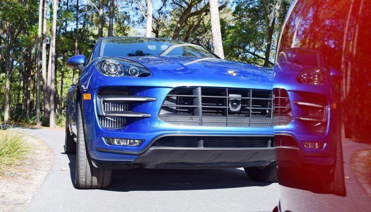Kiawah 2016 Highlights – 2016 Porsche MACAN TURBO in Sapphire Blue »Concours» Car …