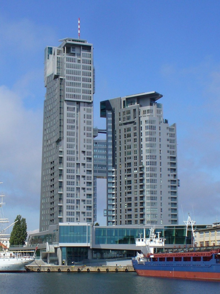 Sea Towers, Gdynia, Poland.