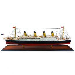 Titanic. Nuevo modelo de sobremesa del Titanic perteneciente a la gama alta con una calidad incomparable. Construido a mano y protegido con un embalaje ampliamente probado contra daños durante el transporte.