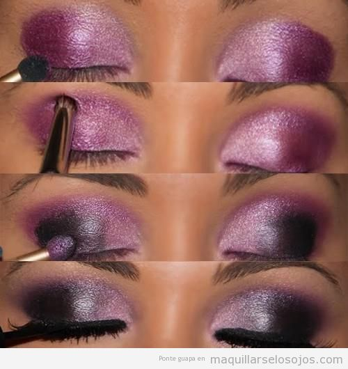 Purple Bridal Makeup For Dark Skin : makeup for dark skin and eyes. I did this and I looked fab ...
