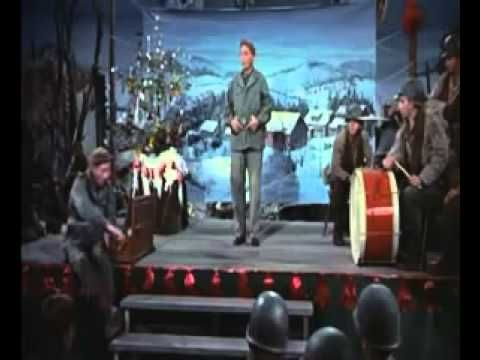 This is my fav. version of the song White Christmas. Bing Crosby sings it the best but with just a music box for music, it's haunting.