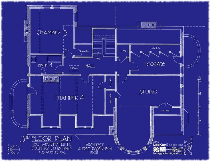 https://flic.kr/p/bh91be | 1120 Westchester Pl - 3rd Floor Plan | Special thanks to hookedonhouses.net/2011/10/31/the-real-american-horror-st...