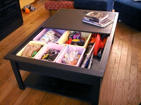 Repurposed Train Table Kids Spaces Pinterest