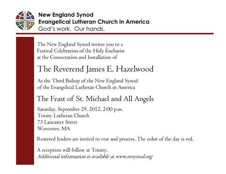 Pastor Installation Service Invitation - Bing Images ...