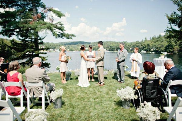 Simple Lakeside Wedding Wonderful theme and ideas Lakes