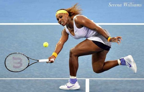 A great poster of Women's Tennis superstar Serena Williams! She's totally fierce on and off the court! Ships fast. 11x17 inches. Need Poster Mounts..?