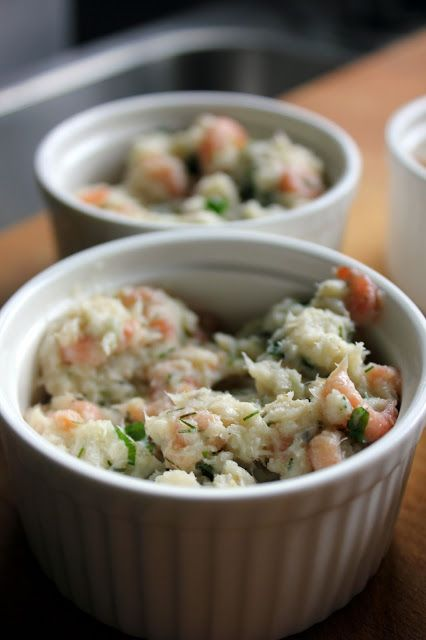 Mijn kookdagboek: salade van gestoomde heilbot met garnalen voor op ...