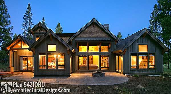 Plan 54210hu 4 bed mountain craftsman beauty house for Mountain craftsman house