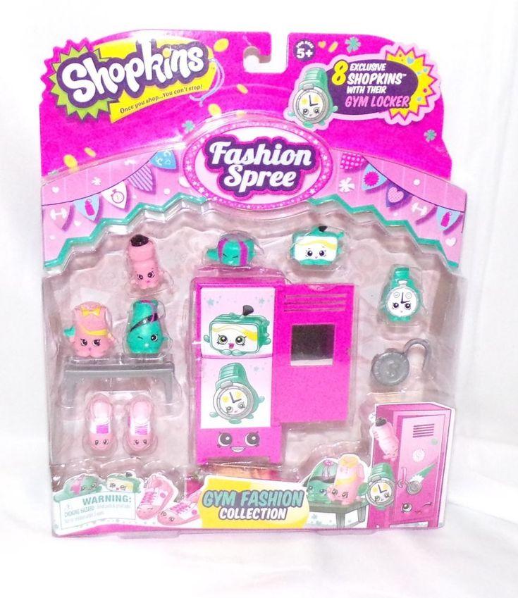 Shopkins Fashion Spree  Gym Collection #Shopkins