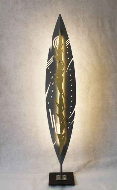 Objectal objets design pour décoration d' intérieur: Lampadaire design Maasaï