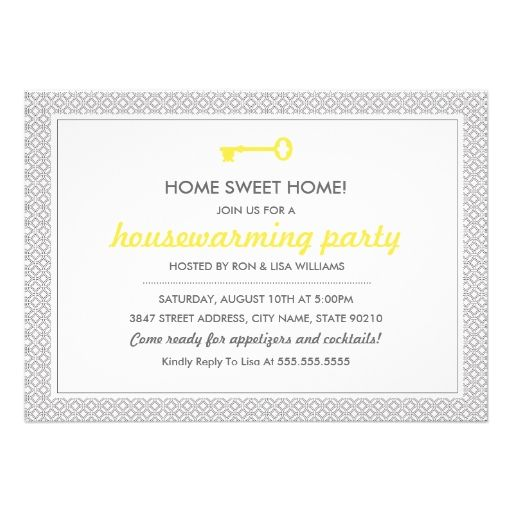 20 Best House Warming Invitations Images On Pinterest Ideas