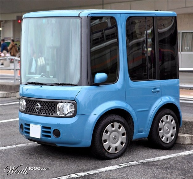 Nissan Cube, Cubed @Amber Posey i found your whip game proper car!!!