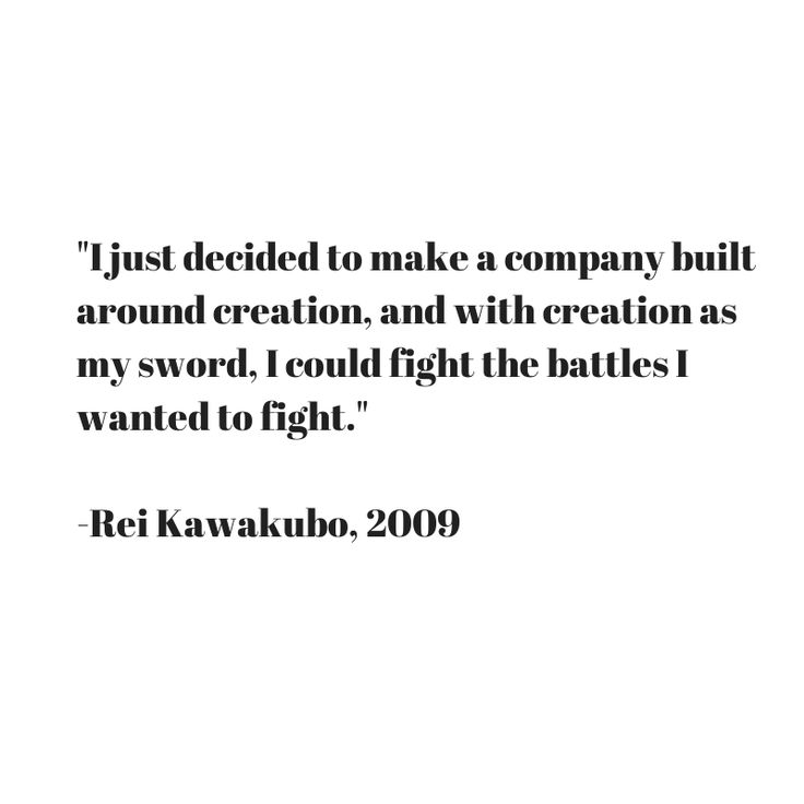 Rei Kawakubo Quotes: Quote From Rei Kawakubo Of Commes Des Garcons