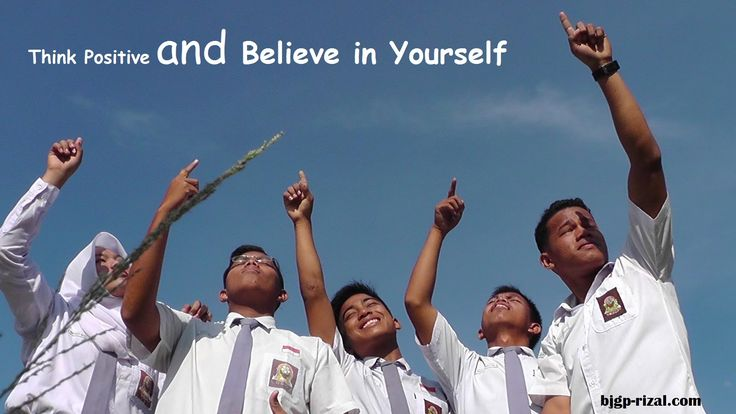believe in your self