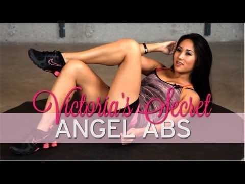 How to Get Abs Like a Victoria's Secret Angel Model - YouTube