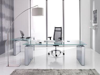 Modern Home Office Glass Desk beautiful modern glass office desk pictures - home ideas design
