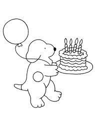 kleurplaat verjaardag - Google zoeken