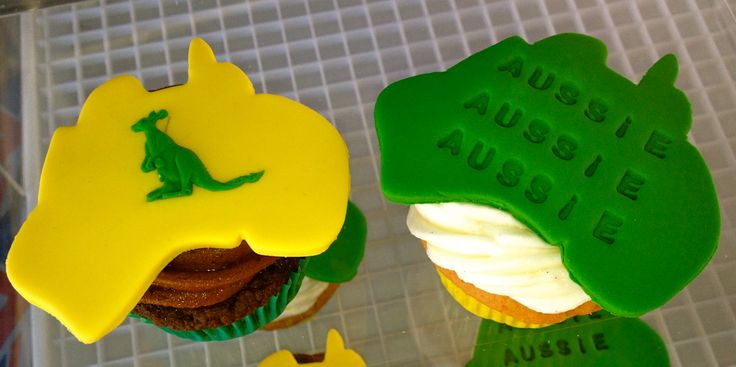 Aussie Day Cupcakes from Nom Noms!