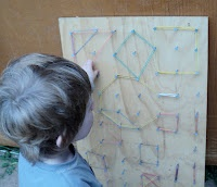 Adventures at home with Mum: Our Geo-Board