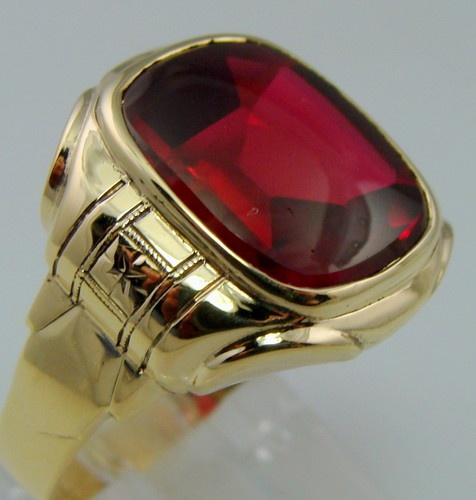 Best 46 best Ruby rings for us men .1 of my favorite gem stones images  ZS22