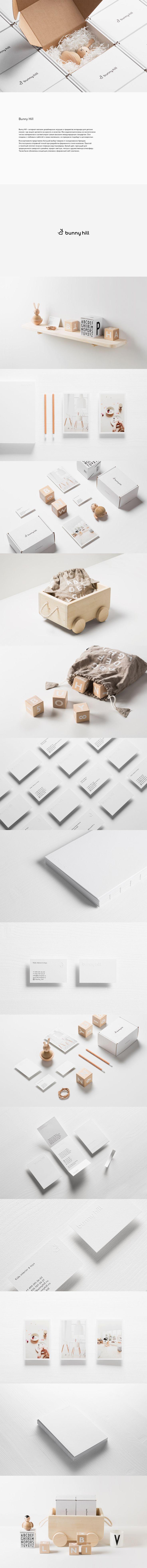 Bunny Hill Identity, Фирменный стиль © ПавелЕмельянов