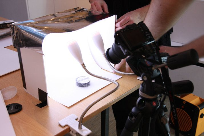How to Make Your Own Photography Lightbox
