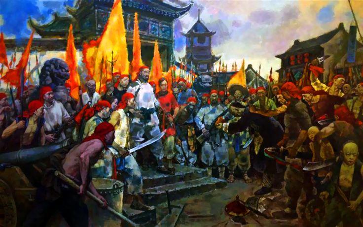 Small Swords Society in Shanghai, Taiping Rebellion