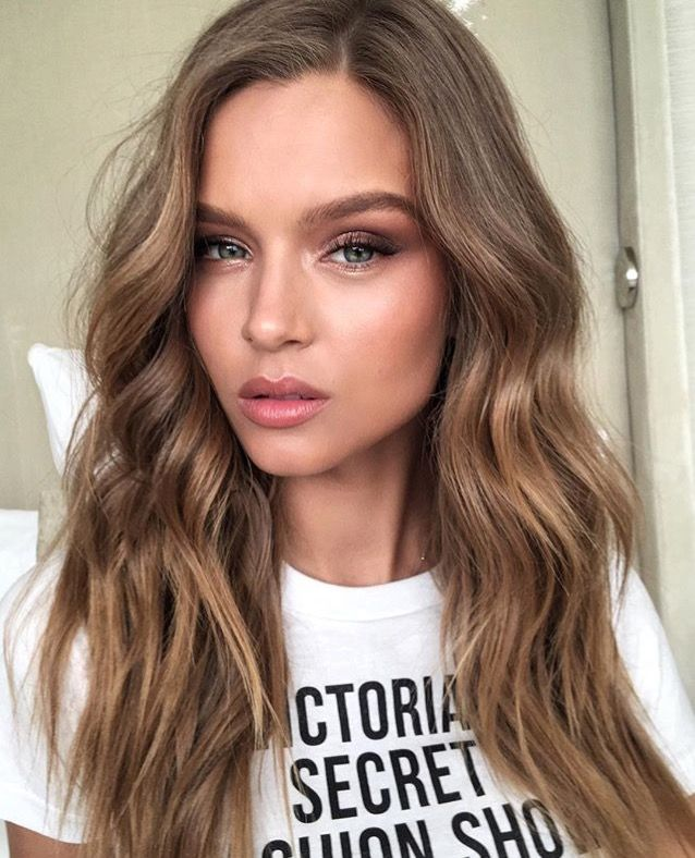 ❤️️ Pinterest: DEBORAHPRAHA ❤️️ Josephine skriver luscious curls hair style for victoria's secret fashion show