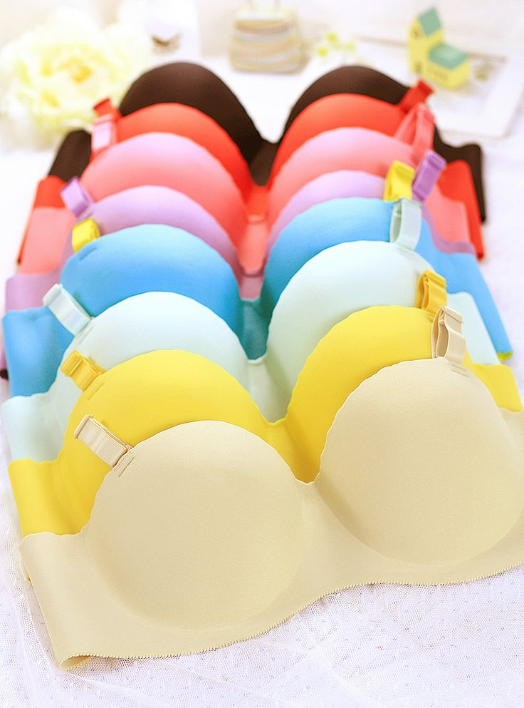 NewArrival HighQuality pink female intimates light-up bra women white 32a36a38a bra push up bras chest support FreeShpping  but it now: t.cn/zRcJctH