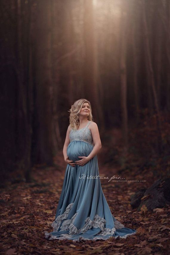 Barocco dress / heute couture / Maternity dress / by MiiAllure
