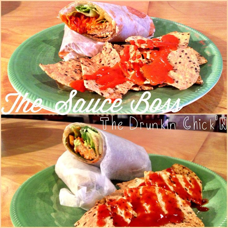 Positivitea is happy to announce two new menu items; The Sauce Boss & The Drunkin Chick'N! 100% Vegan & !00% Delicious!