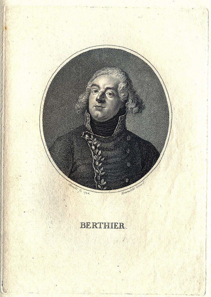 https://flic.kr/p/aRjhnD | Berthier | 1 grafiskt blad, kopparstick   Stipplegravyr föreställande Louis Alexandre Berthier (1753-1815), marskalk.  Konstnär: Darnstedt