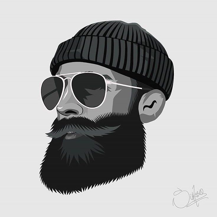 It's so cool to be a part of such a creative community as the beard community is!! Ones again I've been portrayed by an artist with great talent and an unique style!! Go check out the artwork of this awesome artist - Thank you so much @pablosikosia!! Keep up the great work  . Original photo from @picpeople.se…