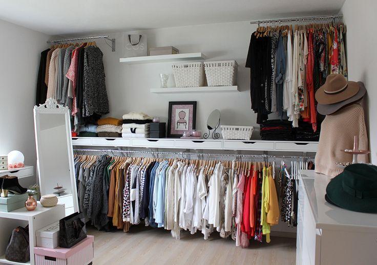 Ankleidezimmer Kleiderschrank Schrank Kleiderschrank Inspiration Interieur Schuhe Schuhe Ankleideraum Ankleide Begehbarer Kleiderschrank